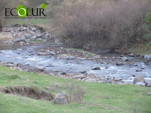 River Courses Decreased in Armenia