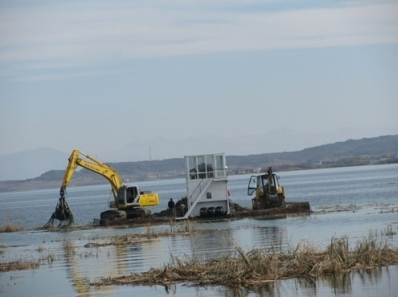 State Budget Funds Designed for Cleaning Flooded Littoral Areas in Lake Sevan Annually Reduced
