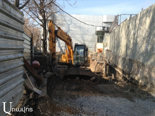 Pavilions To Be Dismantled, New Building To Be Constructed, While Trees in Ring Park Won't Be Cut Down: Yerevan Municipality Assures