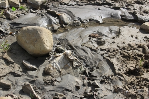 Teghout Tailing Dump Tails Flowing into Shnogh and Debed Rivers: Inspection Following Alarm Signal