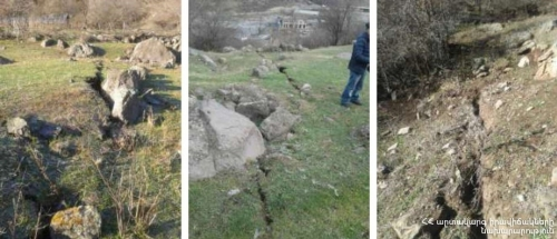 Tumanyan Landslide Activation Reasons Known