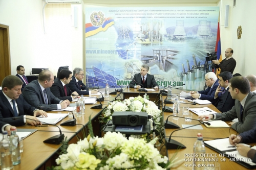 PM Visits Ministry of Energy Infrastructures and Natural Resources