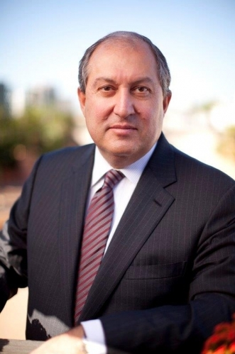 Armen Sarkissian Elected Fourth President of Armenia