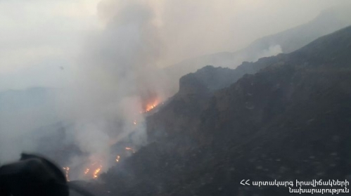 RA Criminal Investigative Committee Closed Fire Case in Khosrov Reserve