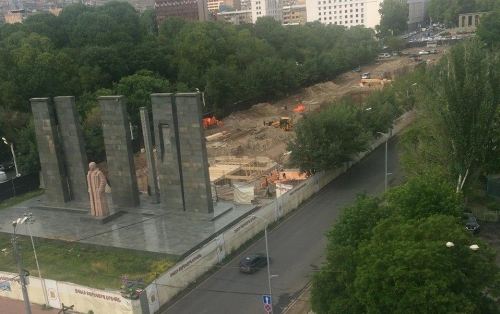 Why Trees Adjacent to Myasnikyan Statue Were Felled Down: Citizens Boycotting, Municipality Explaining