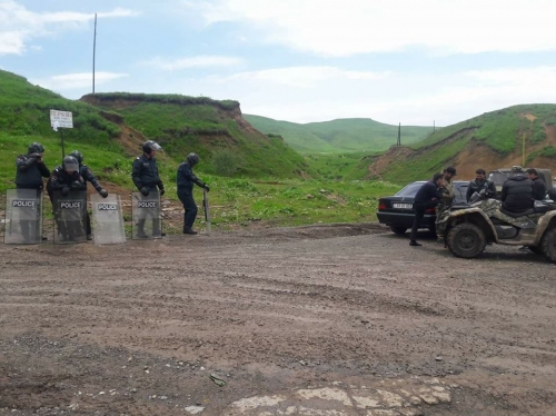 Again Troubles in Vayots Dzor Because of Amulsar