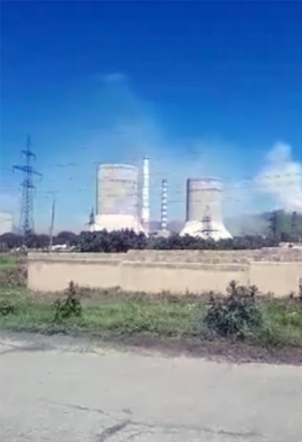 Hrazdan Town Impacted by Cement Factory Emissions