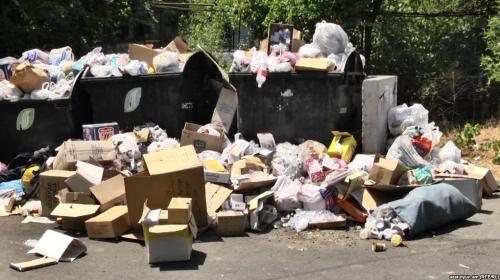 Sanitek Promises To Regulate Garbage Collection in Yerevan