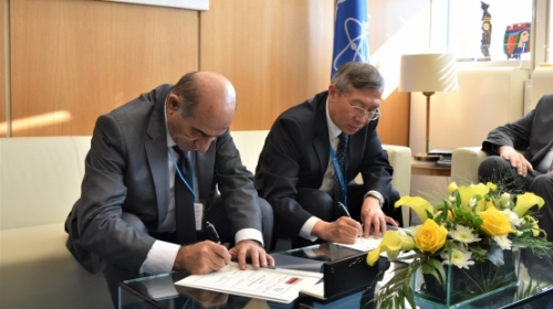 Armenia and IAEA To Develop National Programs Aimed at Ensuring Nuclear Safety