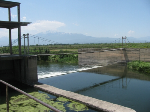 Working Group on Irrigation Problems To Be Established under Acting Armenian PM's Assignment