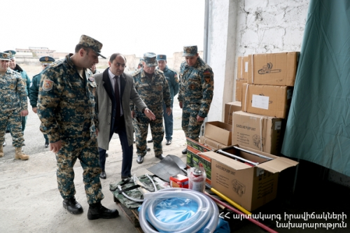 Armenia Building Capacities of Fighting Against Forest Fires