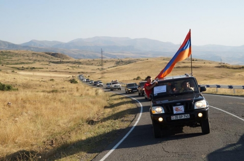 Large Rally and Car March for Amulsar