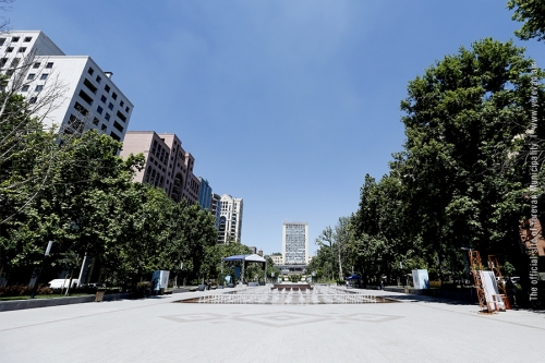 Park Located at End of Yerevan Main Avenue Put into Operation after Reconstruction
