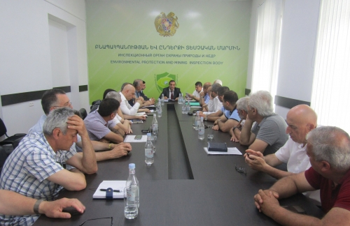 Inspection Body Head Discussed Sectorial Problems with Soil Managers