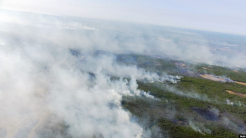 Ecological Disaster In  Siberia: Over 3 Million Ha on Fire, Army To Be Involved under Putin's Decree