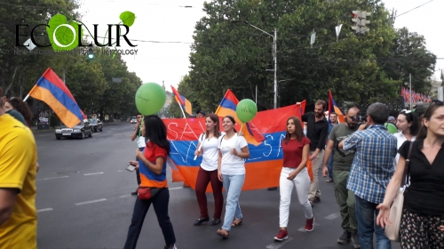 March in Yerevan To Save Amulsar: Photos