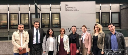 Armenian EITI Delegation Examining Advanced UK Experience of Detecting mine Owners