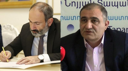 Not Disappointed with Dismissal: Mr. Prime Minister Check What Kind of Specialist You Dismiss: I. Sargsyan