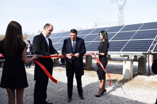 Largest Solar Power Station Operated in Armenia