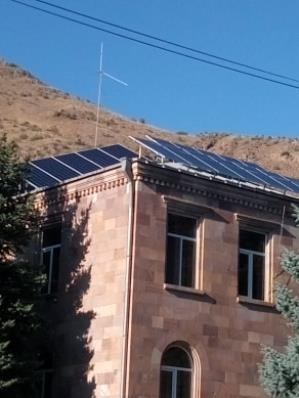Solar Station Operated in Vayq To Ensure Around 80 Percent of Energy Saving fro Community Structures