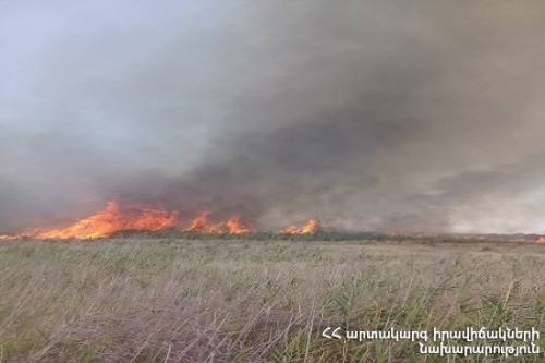 Fires Froken Out in Areas of 6.3 Ha in Lori and Syunik Regions Extinguished