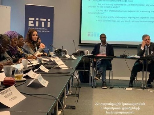 EITI International Secretariat Highly Appreciated Reforms in Armenia Aimed at Increasing Sectorial Transparency Level