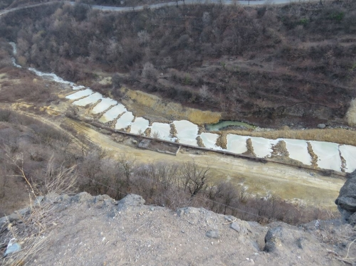 Alarm Signal: Akhtala Gorges Filled with Waste Water