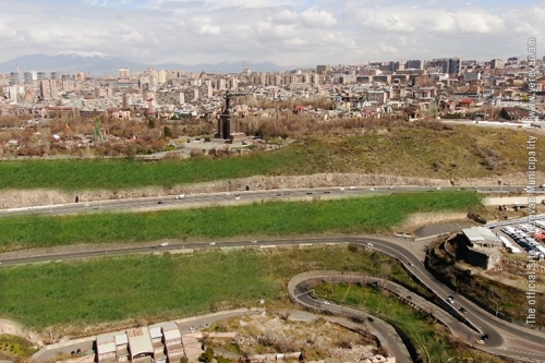 Yerevan Municipality Presenting Its Plans on Capital Landscape Greening