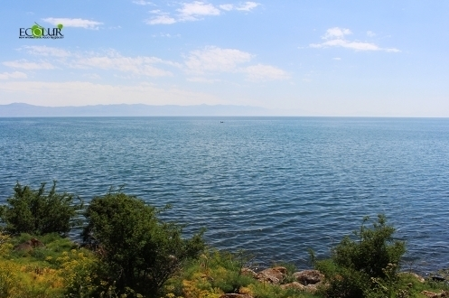 Water Intake for Irrigation Purposes Launched from Lake Sevan