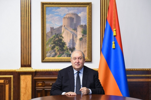 The Statement of the President of the Republic Armen Sarkissian