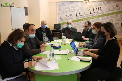 "Expert Round Table ""Energy Development in Armenia under Paris Agreement"""